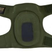 Rodilleras Claw Gear verdes 2