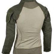 Vista trasera de la camiseta Combat Mk.II verde