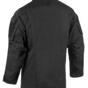 Vista trasera de la chaqueta Stalker Mk.III negra