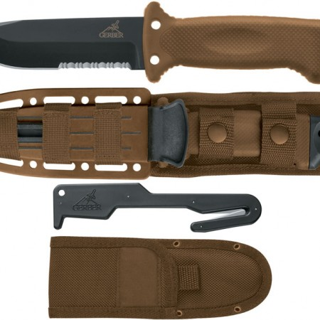 cuchillo de supervivencia MLF II Survival Coyote de Gerber